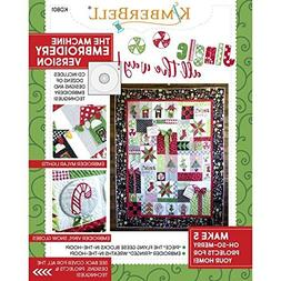Kimberbell Jingle All the Way Machine Embroidery Version wit