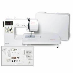 Janome JW8100 Computerized Sewing Machine 100 Stitches, Acce