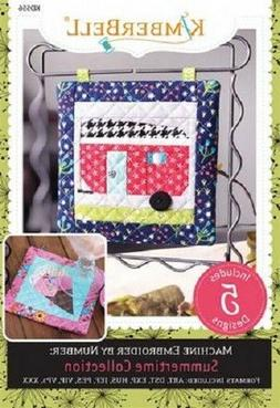 Kimberbell KD556 Summertime Collection Machine Embrodery CD