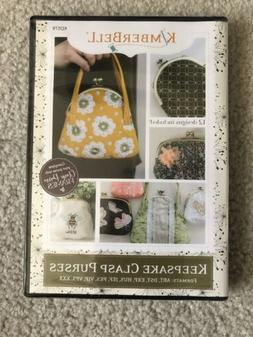 Kimberbell Keepsake Clasp Purses Machine Embroidery CD KD578