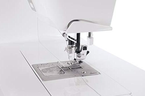 Singer Futura XL-550 and Sewing Machine including 125 Embroidery Built-in Sewing Stitches, Thread for sewing all fabrics with ease