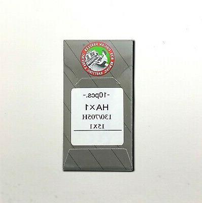 10 flat shank 15x1 hax1 130 705