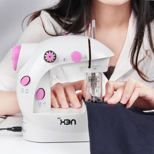 2 Portable Machine Sewing Crafting Mending Machine
