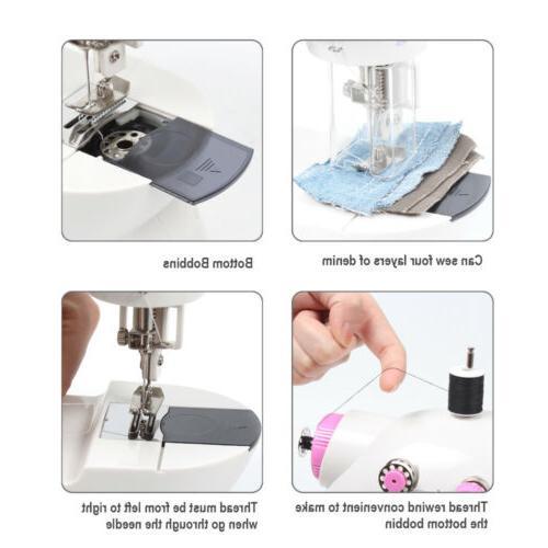 2 Portable Sewing Machine Kit Crafting Mending