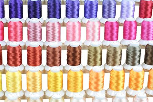 260 Spools Embroidery for Singer Machines