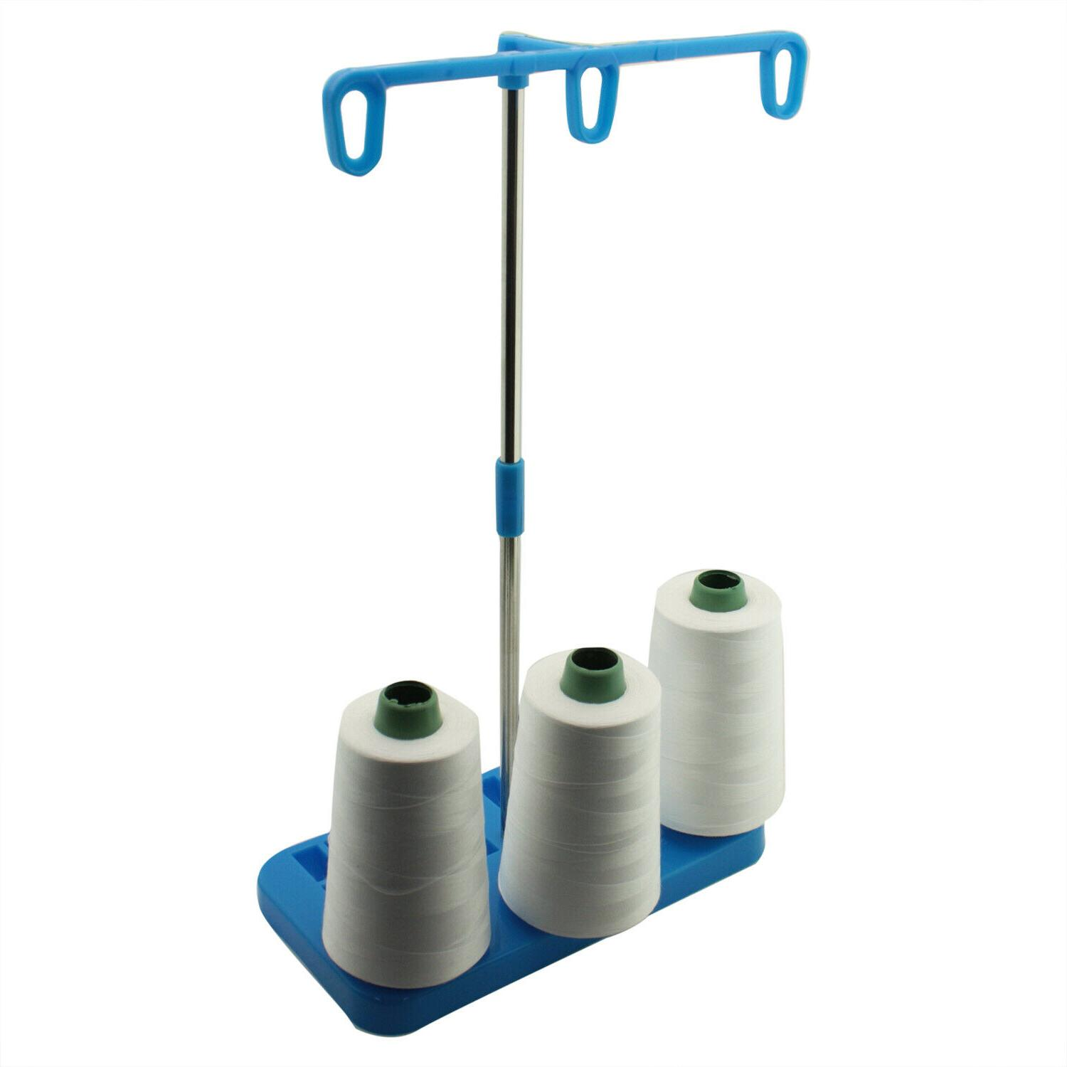 3 Spool Stand for Overlock Sergers, & Embroidery Machines