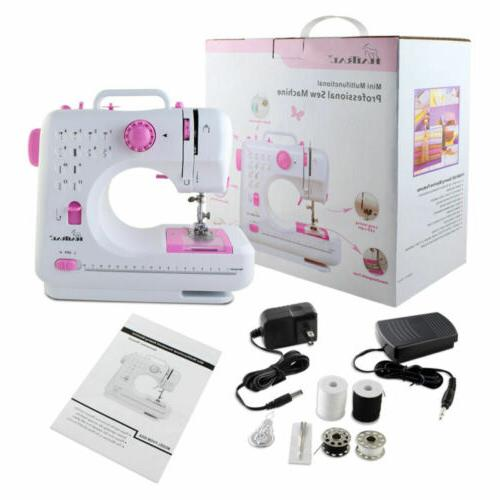 mini electric desktop sewing machine 12 stitches
