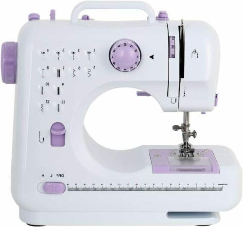 3color electric desktop sewing machine 12 stitches