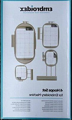 4 Hoops for Brother Embroidery Machine Innov-is NQ1400E