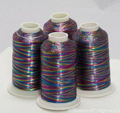 NEW ThreadNanny 4 MULTI-COLOR METALLIC MACHINE EMBROIDERY TH