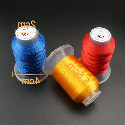 New Thread Spool Brother Janome Pfaff Machines