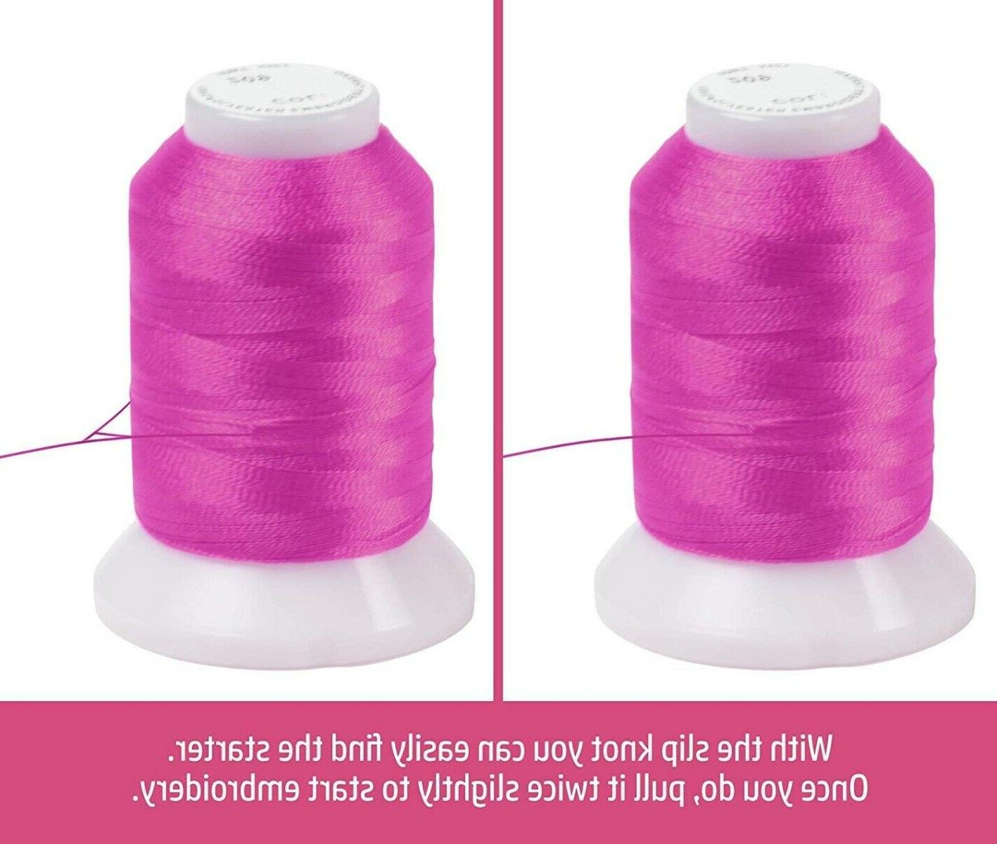 80 Polyester Thread Compatible with Brother