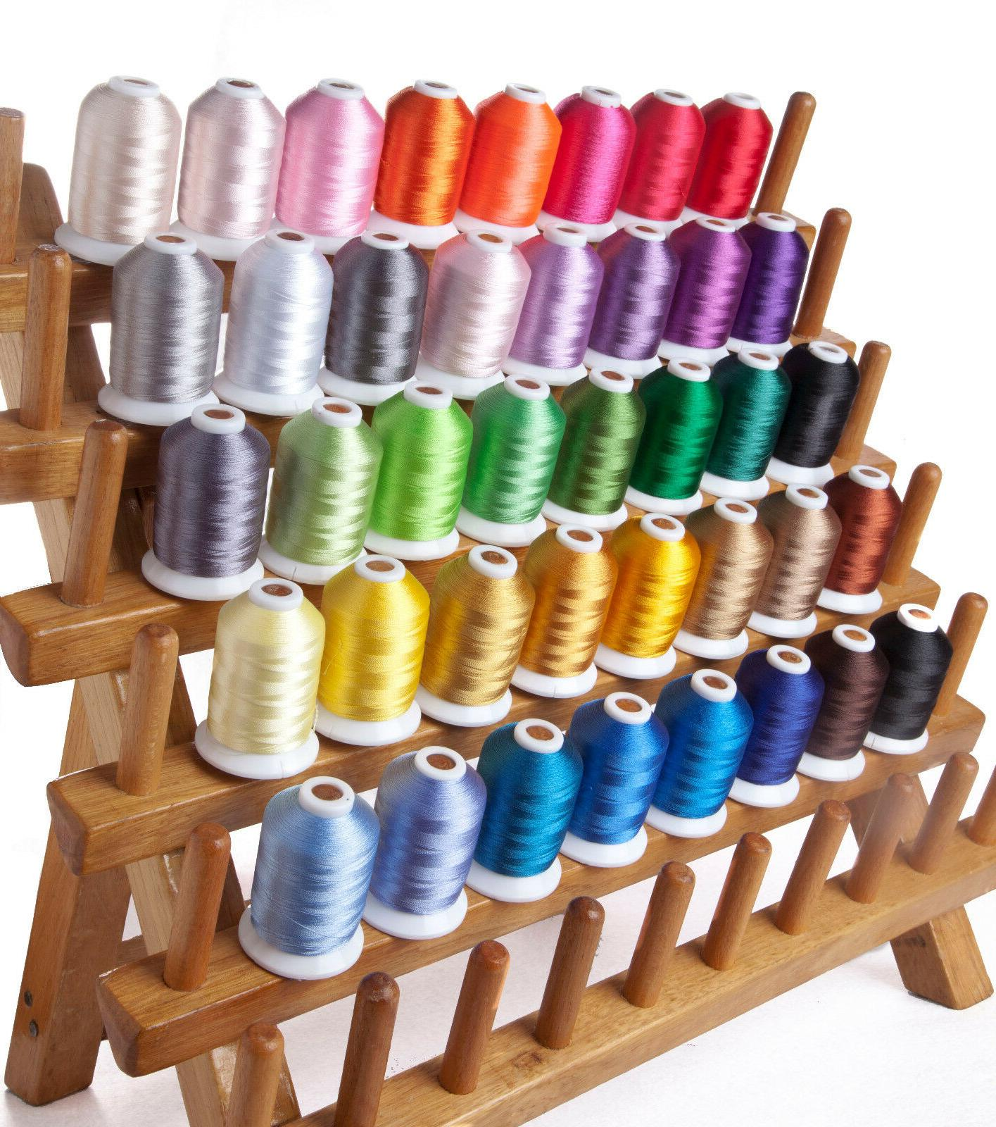 40wt polyester embroidery machine spools thread 40