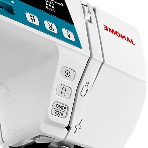 Janome Computerized Machine Extension Table DVD Foot Foot + Foot + Buttonhole +
