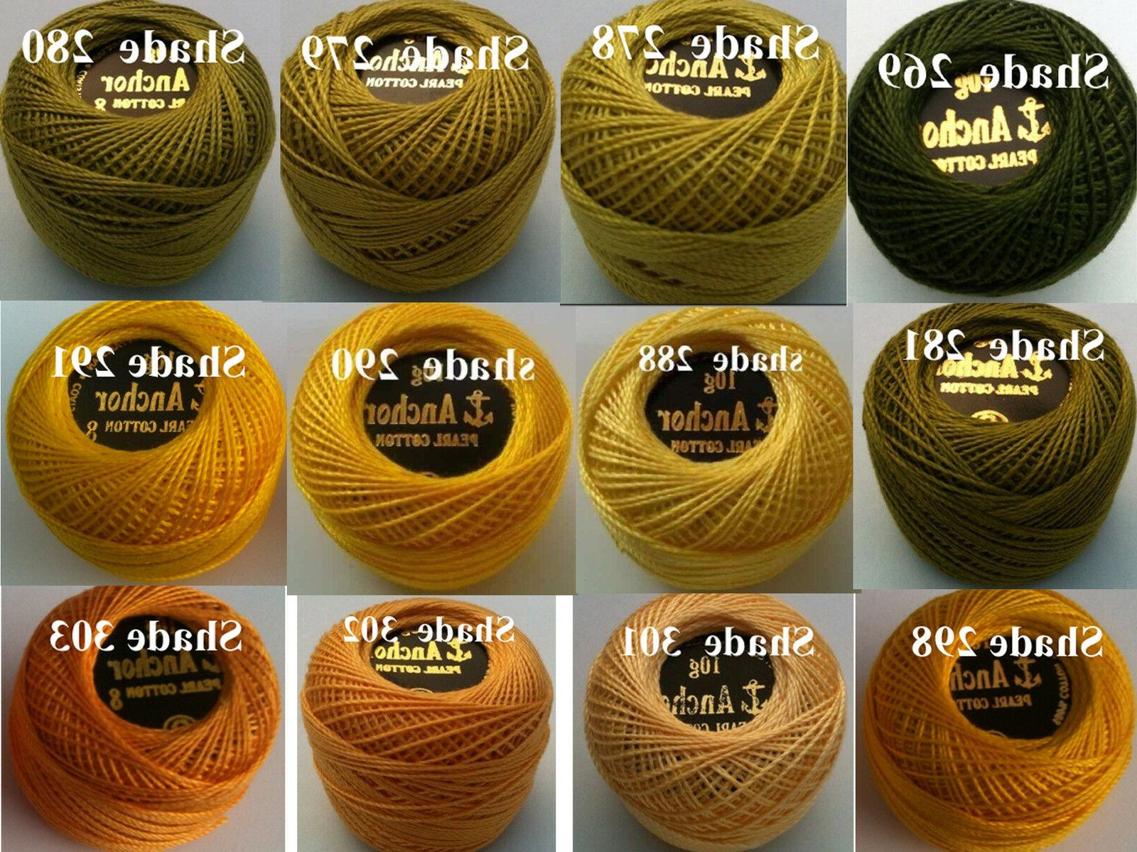 5 Crochet Thread in Color Postage