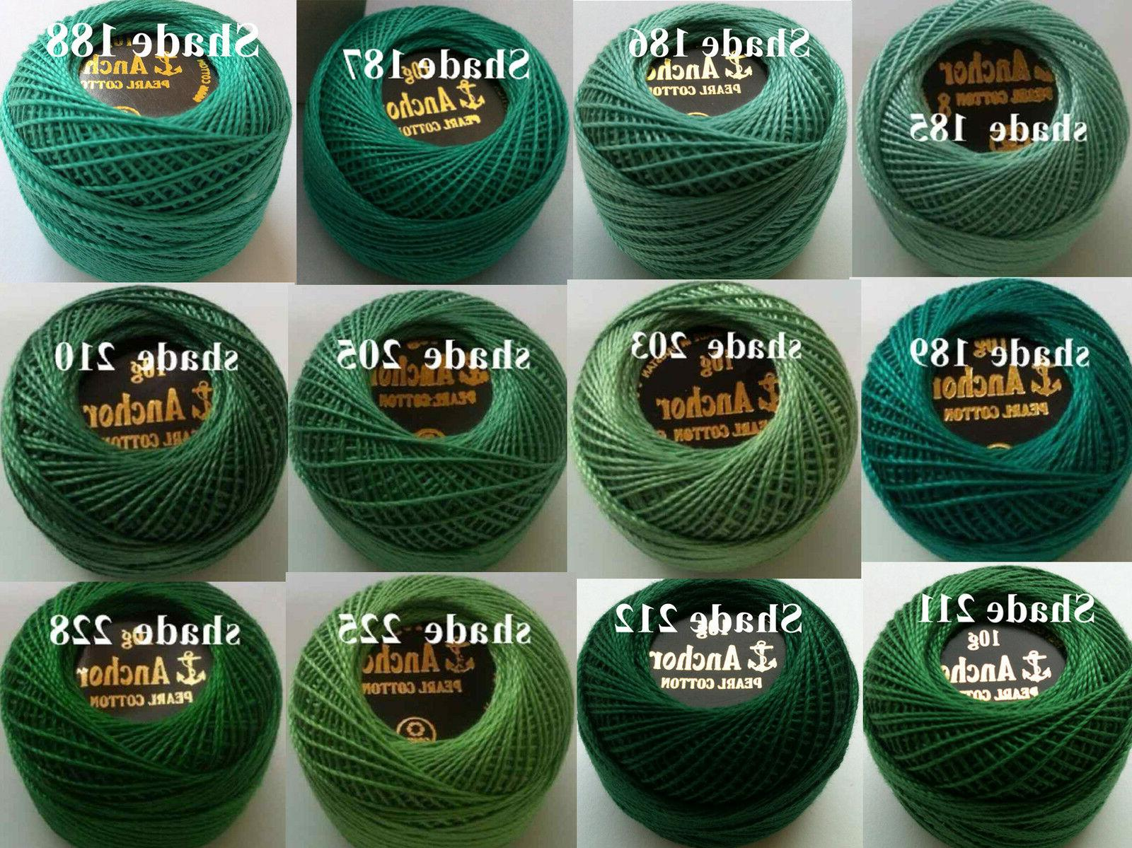 Crochet Embroidery Thread Balls in each Color Postage