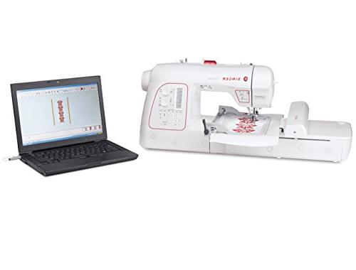 Singer Futura Embroidery and Sewing including Designs, 215 Automatic for sewing all of with
