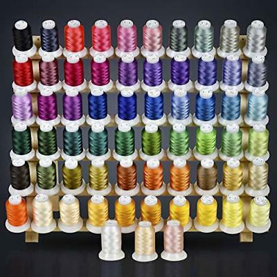 63 colors polyester and sewing embroidery machine