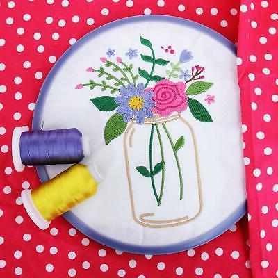 Threadart 63 Spool Brother Colors Polyester Thread |