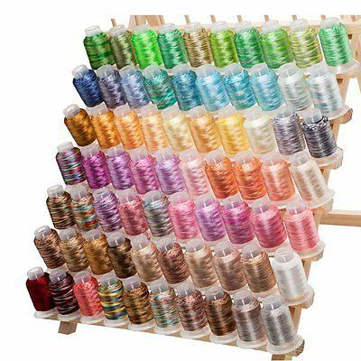 70 Variegated/Shading Embroidery Colors