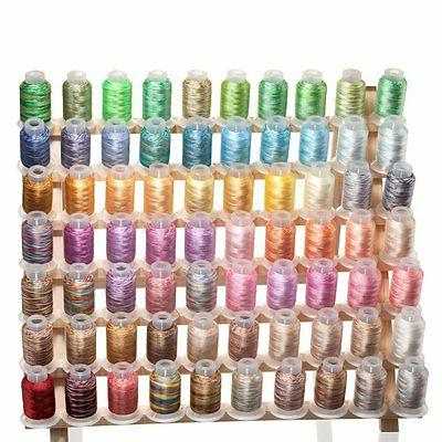 70 spools variegated shading embroidery machine thread