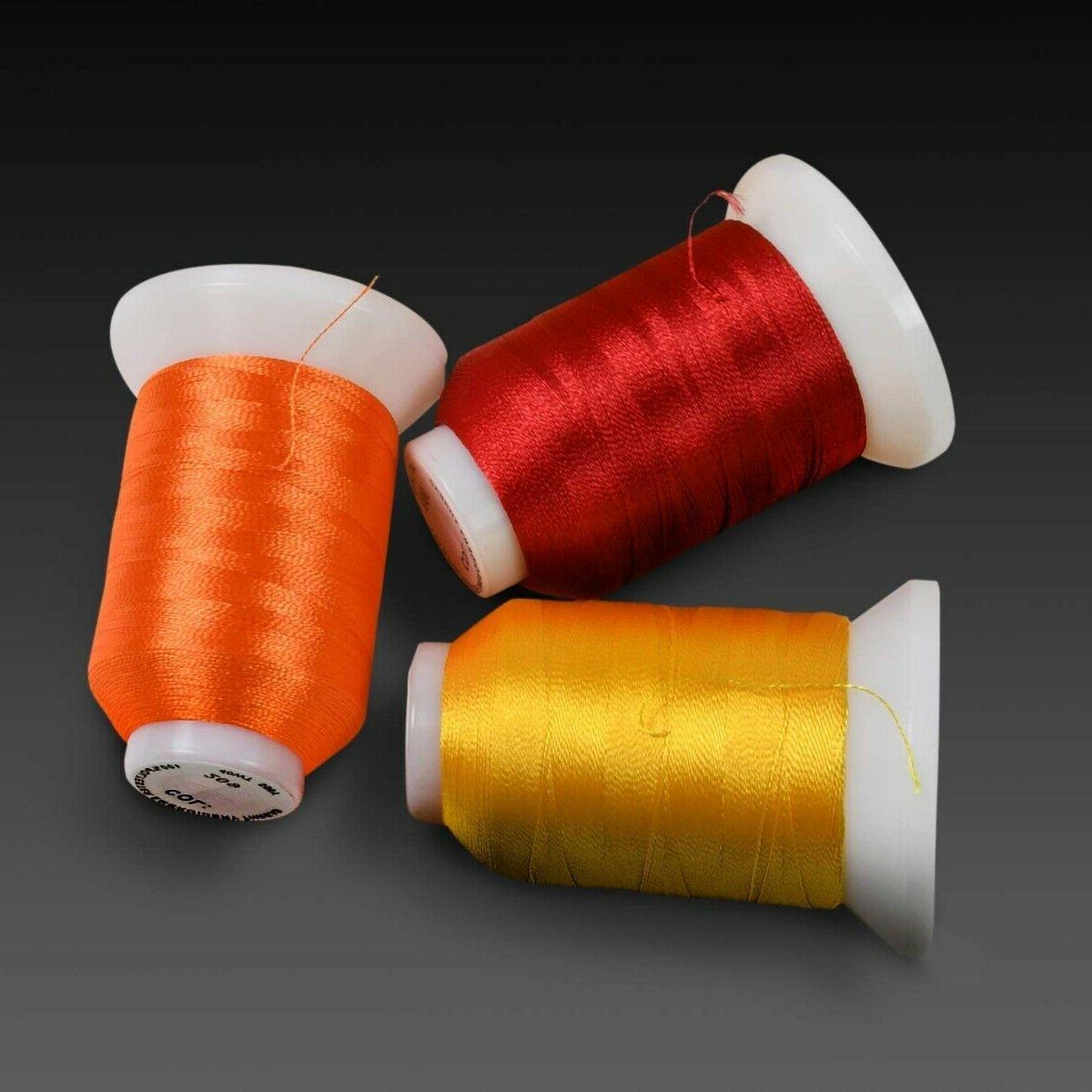80 Spools Polyester Thread with Brother