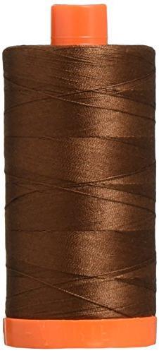 Aurifil A1050-2360 Solid 50wt 1422yds Chocolate Mako Cotton