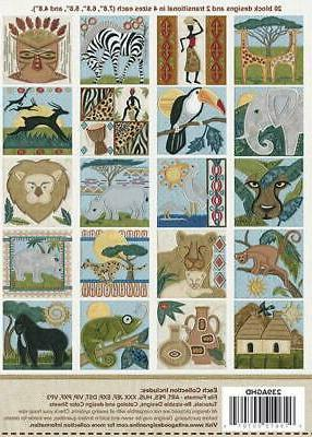 African Safari Anita Goodesign Embroidery Design New