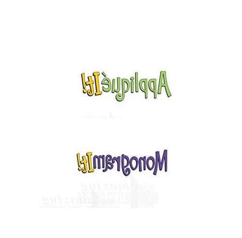 applique monogram embroidery machine software