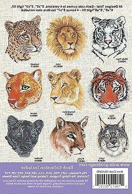 Anita Cats Embroidery Machine NEW