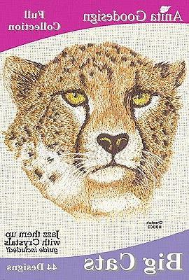 Anita Goodesign Cats Embroidery Machine NEW 56AGHD