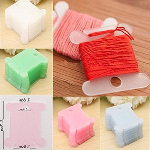 VORCOOL for Cross Floss Thread DIY Storage, Random Color