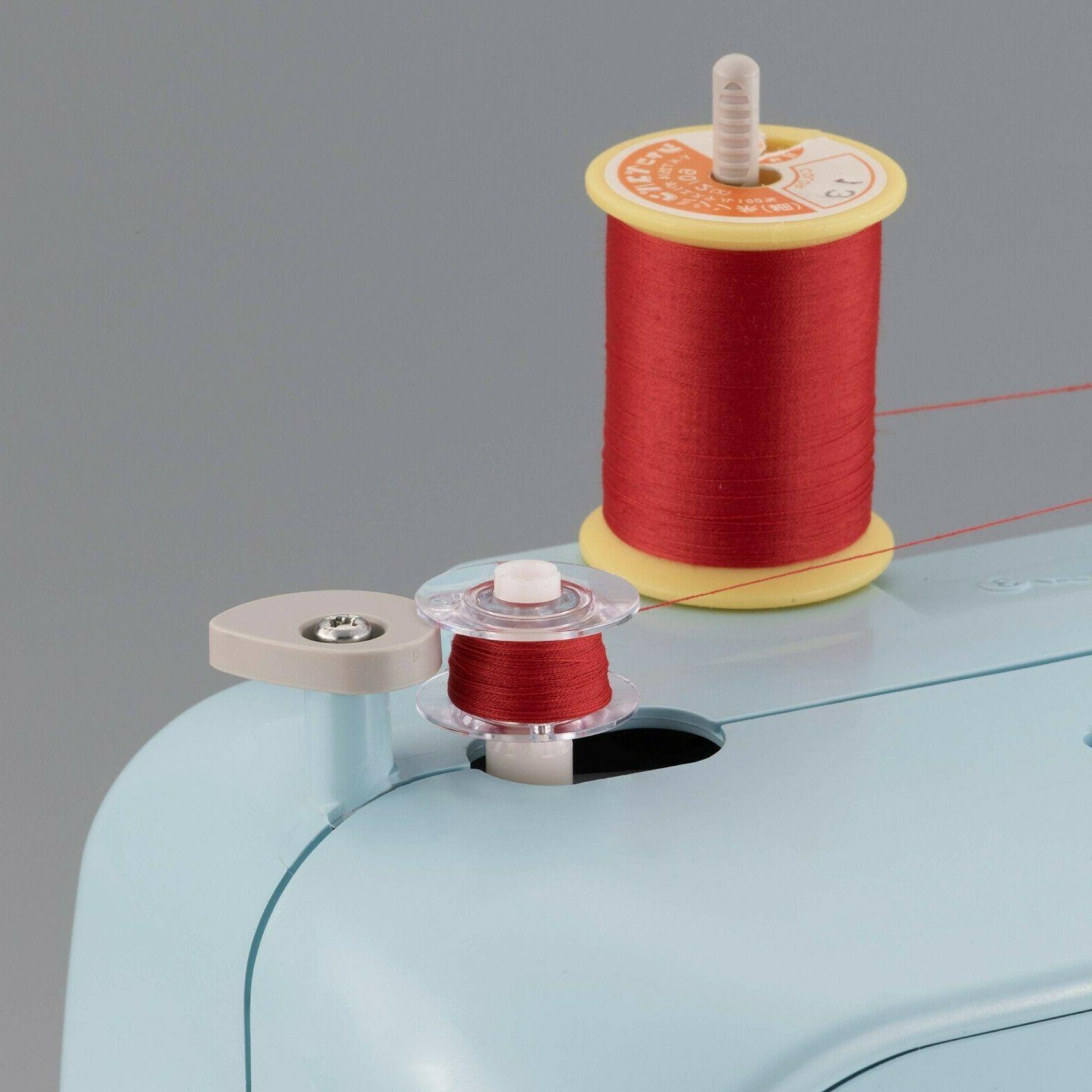 BRAND Full-Size Sewing Machine Stitch LX3817A Aqua Blue