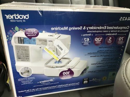 brand new sewing machine se425 computerized embroidery