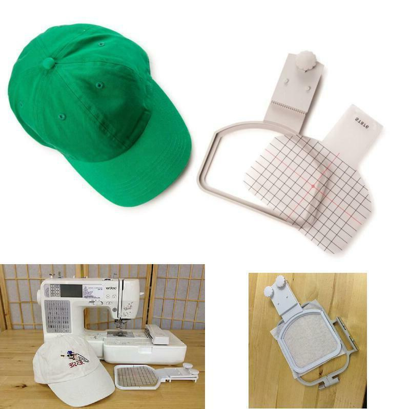 cap hat hoop embroidery machine kit brother