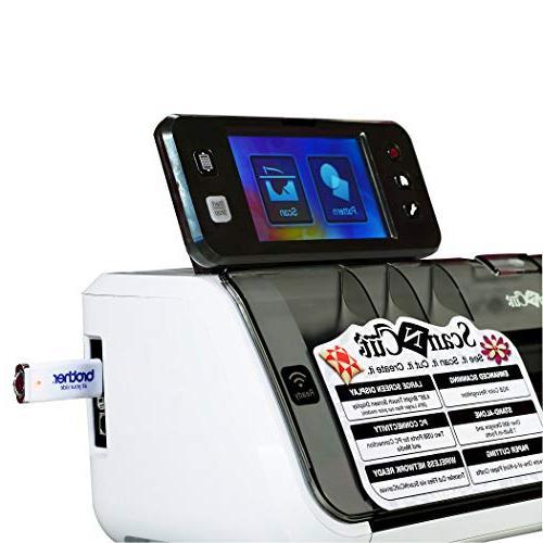 Machine, Scanncut2, Touch Screen, Network Ready, 300 DPI 631 Built-in