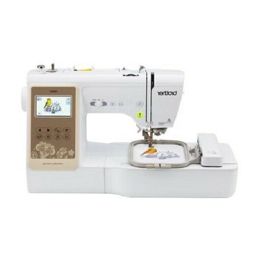 combination computerized sewing embroidery machine color lcd