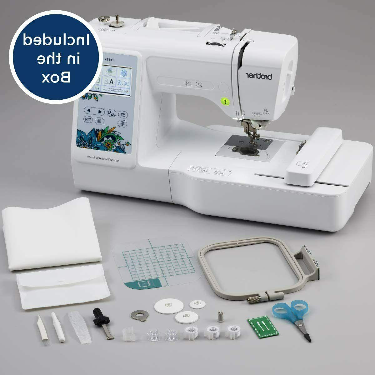 NEW Brother PE535 Embroidery Sewing LCD