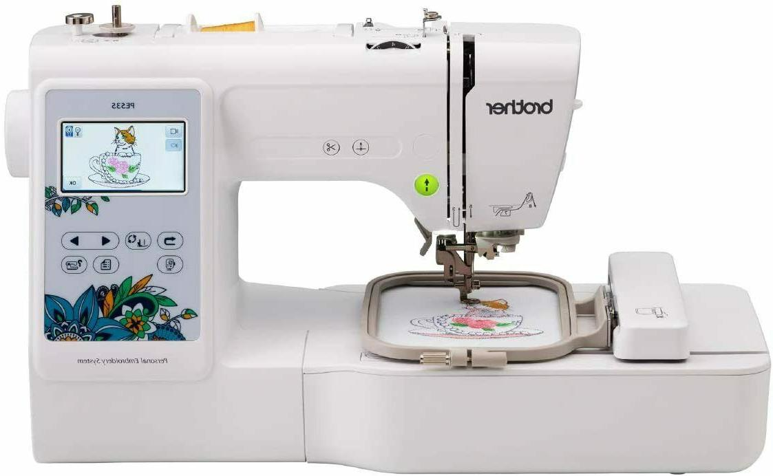 new pe535 computerized embroidery sewing machine w