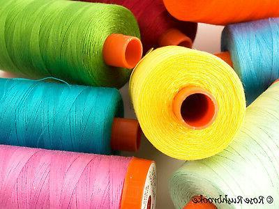 cotton 50 wt mako quilting thread 1422
