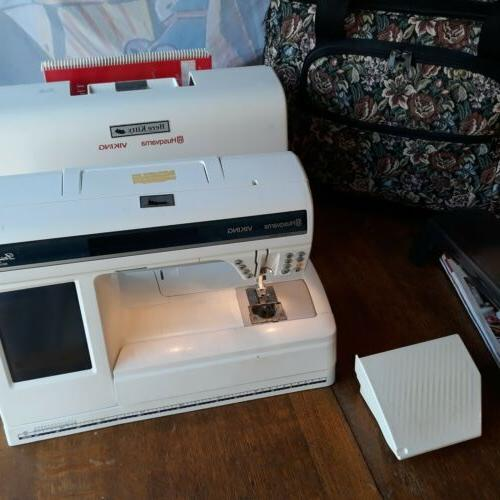 designer 1 sewing machine w embroidery arm