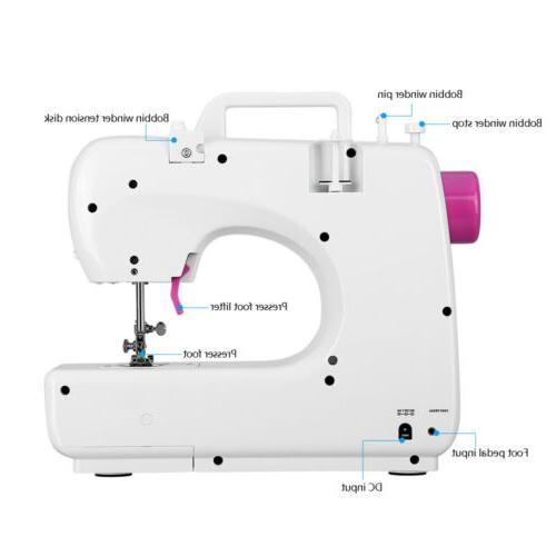 Electric Sewing 16 Machine Speed