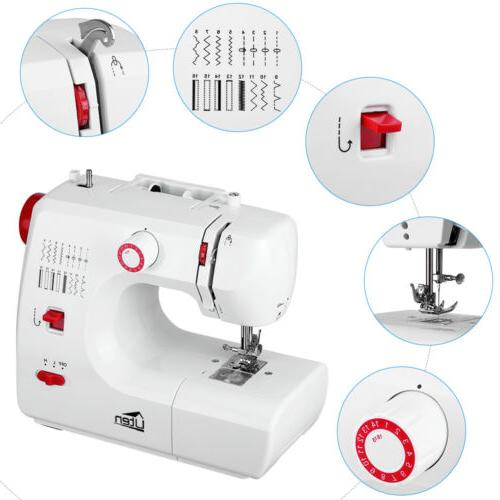 electric household sewing machine 16 stitch embroidery