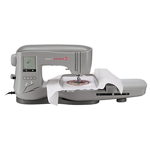 Singer | Superb Embroidery Sewing 200 Embroidery Needle Threader, Area, Touch, Perfect for All of with