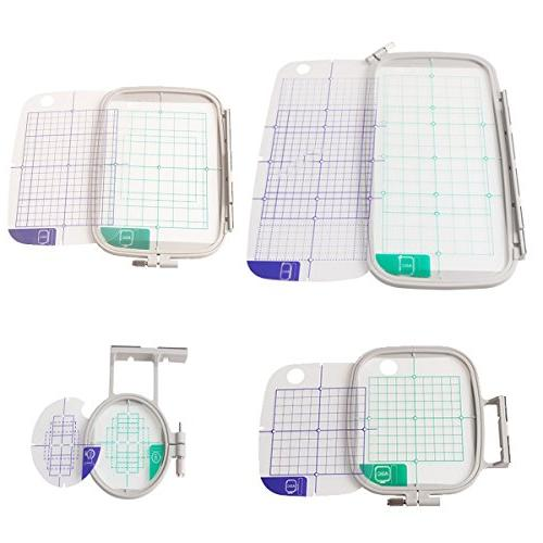 embroidery machine hoop set