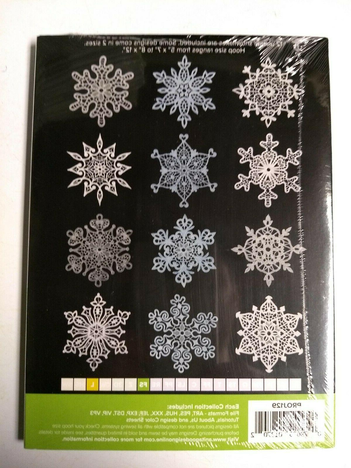 Anita Embroidery Design Lace Snowflakes PROJ129