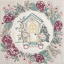 Anita Goodesign Embroidery Designs Hand Sown Quilt