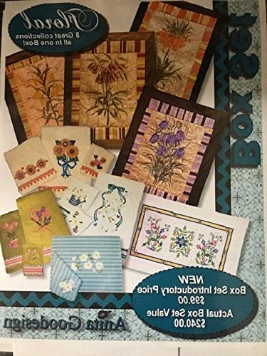 embroidery machine designs set floral