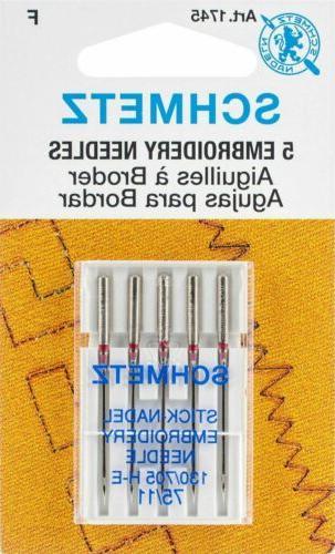 embroidery machine needles 11 75