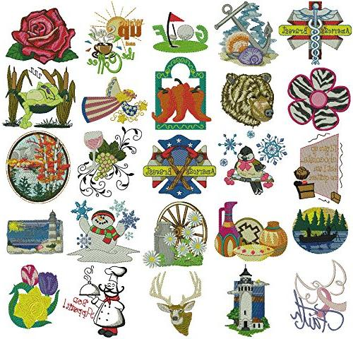 Embroidex Embroidery Kit - Everything to and CD